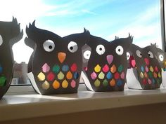 owls … – World of Light Preschool Crafts, Kids Crafts, Arts And Crafts, Diy Crafts For Teen Girls, Diy For Kids, Unicorn Diy, October Crafts, Autumn Crafts, Camping Crafts