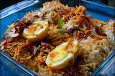 Egg biryani is a very popular variant of the Biriyani, and is relished by eggetarians. It's easy to prepare & prepared with Basmati rice & spices and it is then cooked on dum. Serves - 4-5 ...