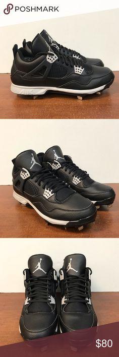 90b86e79ed30a4 Retro Jordan 4 Metal Tip Baseball Cleats. SZ 11.5 Brand New Without Box Retro  Jordan
