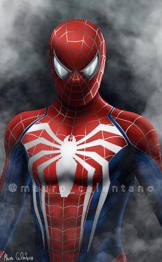 Spiderman Art, Amazing Spiderman, Marvel Comic Universe, Marvel Comics, Spider Man Trilogy, Iron Man Poster, Spider Man Playstation, Avengers, Black Cat Marvel