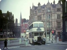 Bus turns onto Norfolk St South Yorkshire, Sheffield, Public Transport, Back In The Day, Norfolk, Buses, Transportation, The Past, England