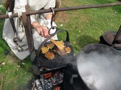 Viking/Saxon recipes with videos