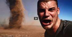Selfie con tornado, ¿nuevo fake? | www.curiosithings.com/es/selfie-con-tornado-fake/