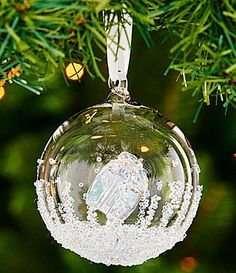 swarovski 2016 annual edition crystal christmas ball ornament dillards