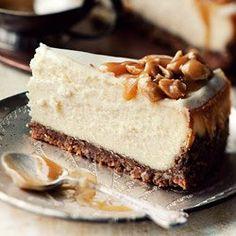 Sernik dekadencki | Kwestia Smaku Toffee, Cheesecakes, Food And Drink, Baking, Recipes, Cooking Blogs, Sweets, Mascarpone, Thermomix