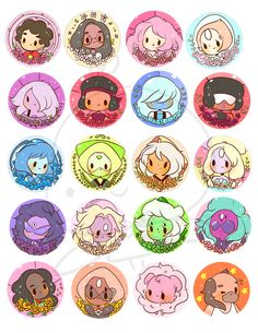 steven+universe+buttons+for+your+steven+universe+needs!!!+ FOR+ORDERS+OF+5+BUTTONS: leave+a+note+indicating+which+ones+you+want,+or+else+i'll+send+you+5+random+ones+:c buttons+are+1.5'