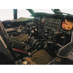 """""""Business End of the B-52  #B52 #steamdriven #Stratofortress #military #USAF #AirForce #Bomber #instruments #cockpit #flightdeck #aircraft #flying…"""""""