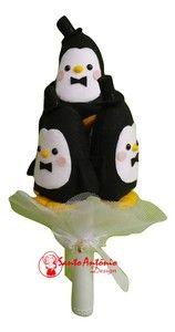 Buquê de Pinguim com 5