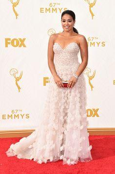 Gina Rodriguez - 2015 Emmys