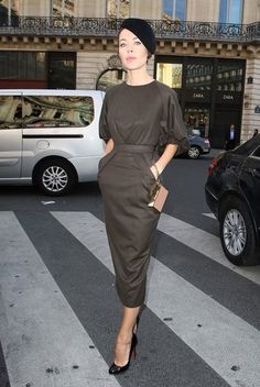 ulyana sergeenko paris fashion week 2014  Follow ig : @liannasanjaya to view my style