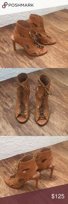 JOIE lace-up heels Super cute JOIE lace-up heels. Gladiator style. Size 36.5. Worn twice, excellent condition Joie Shoes Heels