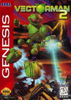 Vectorman 2 Genesis Front Cover