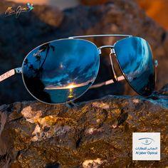 اقضي وقتا رائعا على الشاطئ واستمتع بألوان الربيع الزاهية مع تقنية عدسات ماوي جيم! #الجابر_للنظارات #موضة #صحة #رياضة #دبي #الامارات #الشارقة These Maui Jim Pilot sunglasses boost colors, contrast, and depth perception, all while blocking 99.9% of reflected glare! The stainless steel frame offers scratch resistance and impact resistance in a lightweight high-index package. #Dubai #DXB #UAE #AbuDhabi #sunglasses #glasses #myDubai #myAbuDhabi…