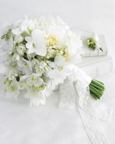 "See the ""White Wedding Bouquet"" in our  gallery"