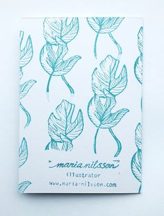 Palm Illustration by Maria Nilsson