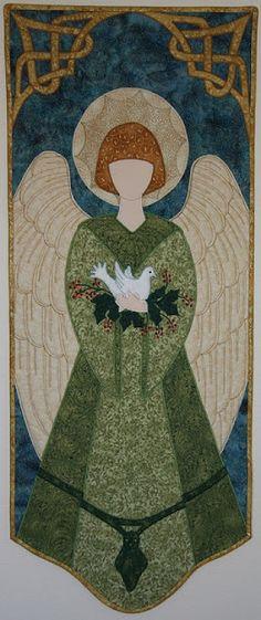 Inspiración edredón: La elegancia de los ángeles
