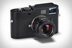 The Leica M Monochrom Camera is the world's first digital camera exclusively for full-frame, 35-mm black and white photography ($8,000.00)