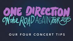 One Direction On the Road Again: Our Four Concert Tips