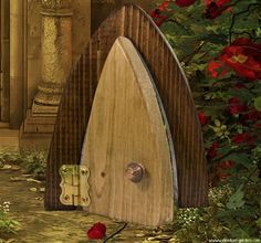 Wee Opening Fairy Door