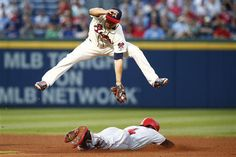 Bruce collects 2 triples to help Reds beat Braves 8-4 http://www.snsanalytics.com/j4zay7