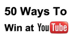 Epic YouTube Tips...for, ya know...if i ever beome a youtuber...