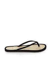 Plain Seagrass Flip Flops
