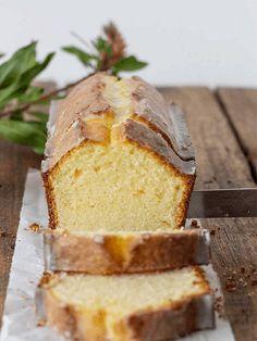 Lemon Sour Cream Pound Cake | Vintage Kitchen Yummy Treats, Delicious Desserts, Dessert Recipes, Lemon Desserts, Candy Recipes, Lemon Recipes, Sweet Recipes, Sour Cream Pound Cake, Pound Cake Recipes