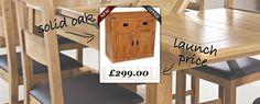 Fabulous new solid oak furniture range at unbeatable prices http://www.prestigefurniture.co.uk/ranges/westminster-solid-oak.html