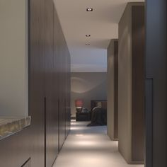 modern dramatic rotterdam villa design in dark shades2 | home, Innenarchitektur ideen