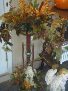 Autumn floral arrangements