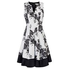 Buy Coast Opellia Jacquard Dress, Multi Online at johnlewis.com