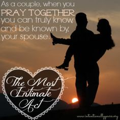 How to Have a Lasting Intimate Marriage