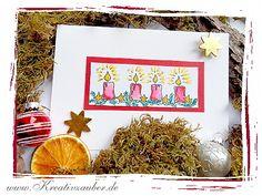 Weihnachtspost und viele weitere kostenlose e-Cards unter www.kreativzauber.de