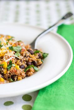 Mexican Quinoa by Courtney | Cook Like a Champion, via Flickr