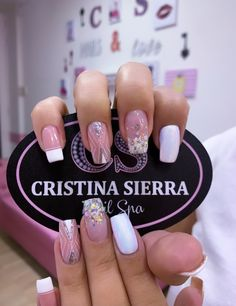 Nail Spa, Nail Manicure, Nail Polish, Diy Beauty Nails, Best Acrylic Nails, Love Nails, Short Nails, Natural Nails, Nail Care