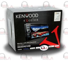 "Sourcing-LA: KENWOOD EXCELON DDX-5901HD 6.1"" CD MP3 DVD USB IPO..."