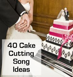 """The Cake Cutting Music you choose will help to enhance the special moment in your day when you cut your wedding cake. It might seem unimportant to have a specific song for this, but it really does make a big difference to this moment. Every part of your ceremony should have it's """"soundtrack"""" song."""