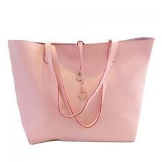 $16.19 Casual PU Leather and Solid Color Design Women's Shoulder Bag