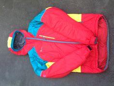 an insulated jacket (directalpine)