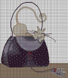 miss cats purse