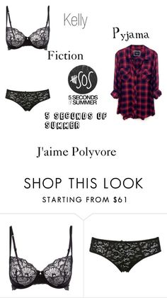 """Pyjama Kelly fiction 5Sos - Designed by KellyMalik295"" by kellymalik295 ❤ liked on Polyvore featuring Calvin Klein, Dolce&Gabbana and Rails"