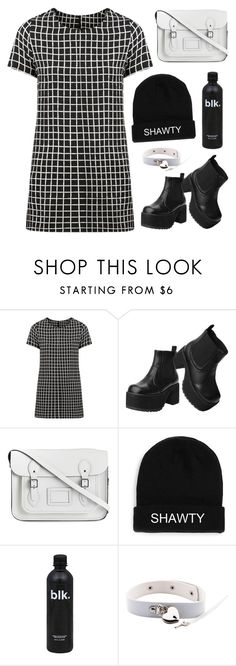 """im talking to you"" by novalikarida ❤ liked on Polyvore featuring T.U.K. and The Cambridge Satchel Company"