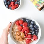 I enjoy a little oatmeal with my fruit and peanut butter  Guys You can get a  coupon for megafood multi vitamins and be entered to win a years supply of multis and a wellness getaway um yes please  by participating in their amazing initiative to end nutritional poverty For every pledge taken MegaFood with donate donate  bottle of Multis and make a donation to wholesomewave equivalent to two servings of fresh fruits and veggies for someone living with limited access to nutritious food Get…