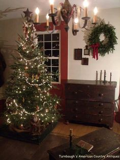 The simplicities of Christmas, calming the spirit.