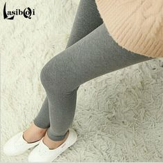 Cheap New Ms Fashion Sexy Brands Women's Big Underwearw Large Casual Cotton Solid Color Plus Size Thin Large Leggings Pants Fat Thin Waist, Plus Clothing, Plus Fashion, Fat Fashion, Curvy Fashion, Leggings Are Not Pants, Sexy, Casual, Fashion Styles