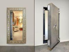 versteckt - Geheimraum hinter Spiegel