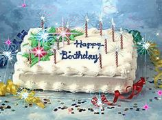 beautiful   glitter cakes gifs | happy birthday cake animated gif happy birthday cake animated gif