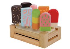 ROWEN! Pretend play ice-cream set