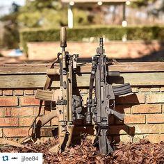 FNH SCAR16 SBR & CZ 805 Bren SBR.