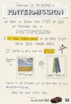 Pintermission by Honda® [Image 2]